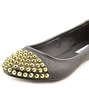 Steve Madden Size 6.5 M Kimmmie Black Shoes